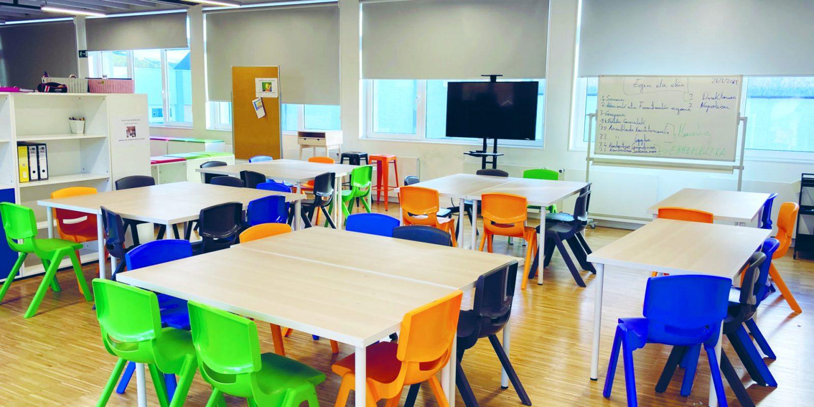 Colegio Osotu en Güeñes